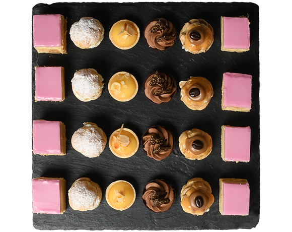Assortiment de mini pâtisseries